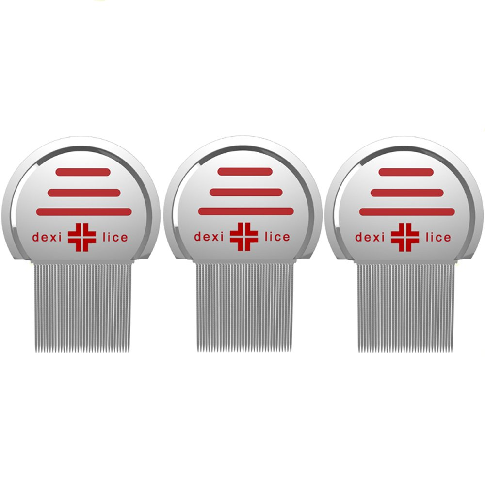 Professional Lice Comb Stainless Steel Lice / Nit Removal and Treatment (3)