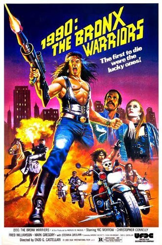 1990: The Bronx Warriors Poster 27x40 Vic Morrow Christop...