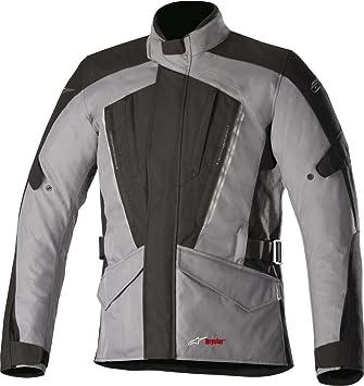 Alpinestars - Chaqueta impermeable para motocicleta, color negro y gris oscuro: Amazon.es: Coche y moto