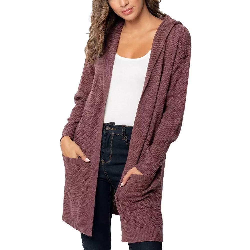 Seaintheson Women's Coats OUTERWEAR レディース B07HRG1J9Q X-Large|パープル パープル X-Large