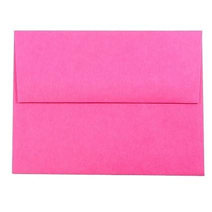 amazon com jam paper a2 colored invitation envelopes 4 3 8 x 5 3