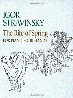 the rite of spring for piano four hands dover music for piano