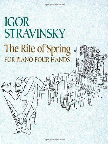 Download The Rite of Spring for Piano Four Hands (Dover Music for Piano) pdf