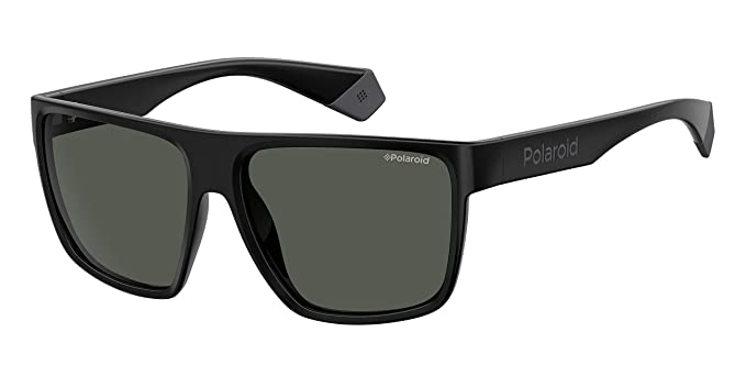Polaroid PLD 6076/S Gafas de Sol, Multicolor (Black), 60 para Hombre