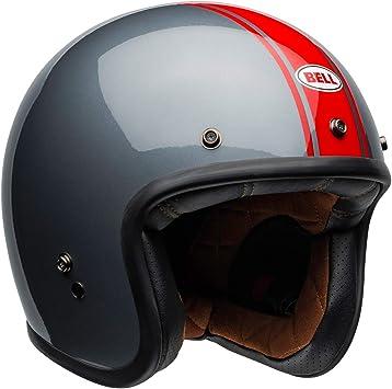 Gloss Vintage White, Medium Bell Custom 500 Open-Face Motorcycle Helmet