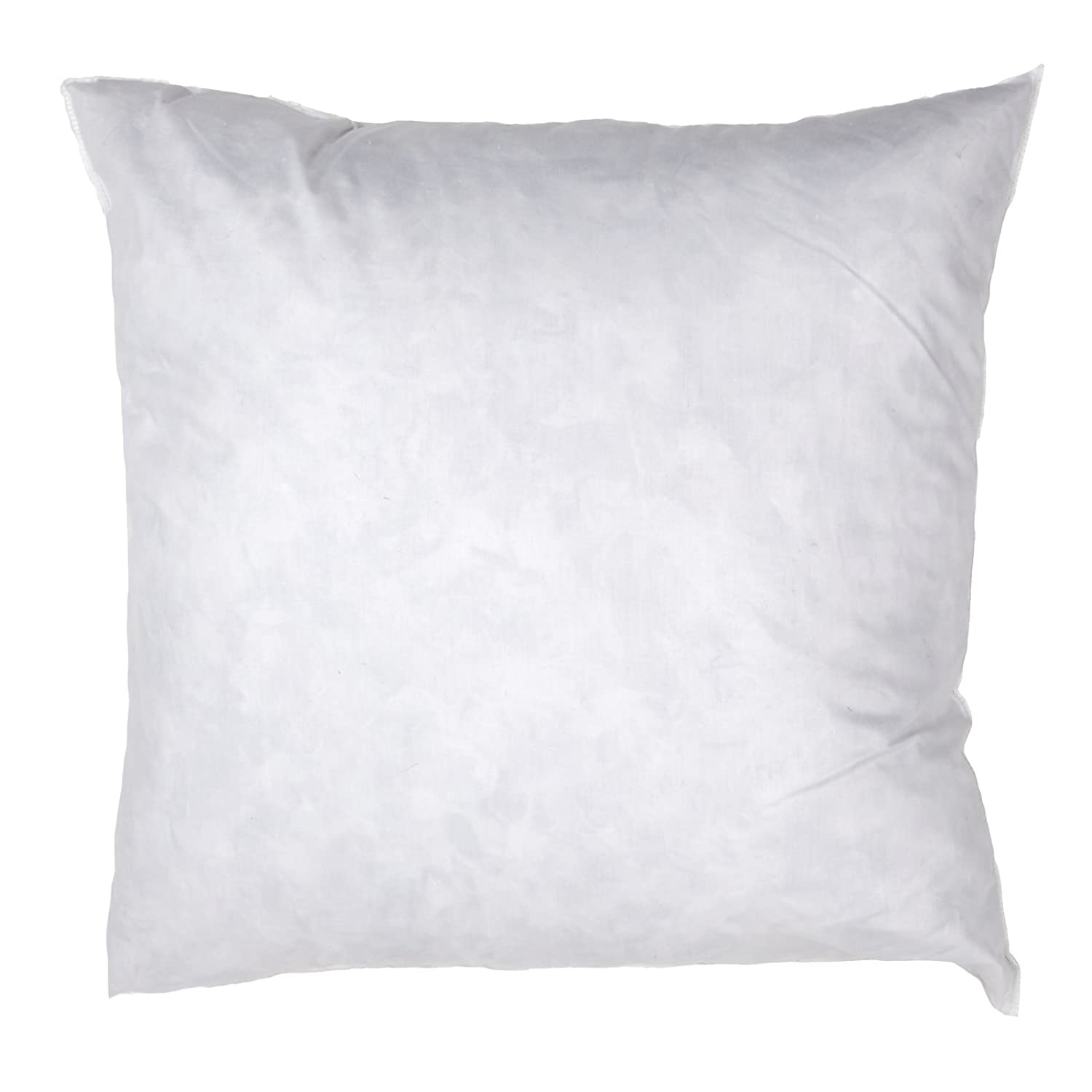 Famous Maker 24in x 24in Feather/Down Pillow Form White, Fabric.com PIL-011