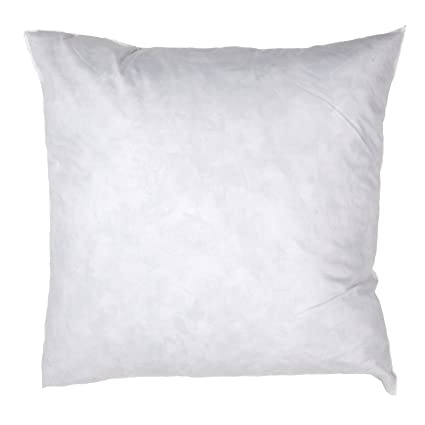 amazon com famous maker 24in x 24in feather down pillow form white