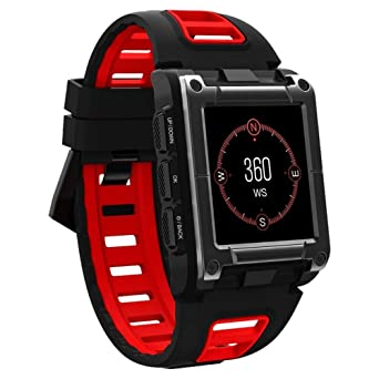 OSYARD Montre Connectée Bracelet Intelligent de GPS Bluetooth Montre de Natation Ip68 ImperméAble Professionnel
