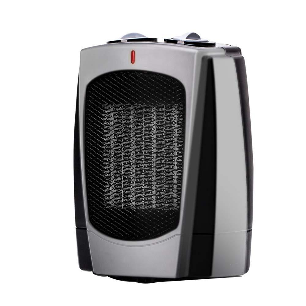 Acquisto Riscaldatore per La Casa Riscaldatore Elettrico per Desktop Riscaldatore Elettrico per Mini Riscaldatore Risparmio Energetico Materiale ABS: 16,5 * 10,6 * 20,5 Cm-Nero Prezzi offerte