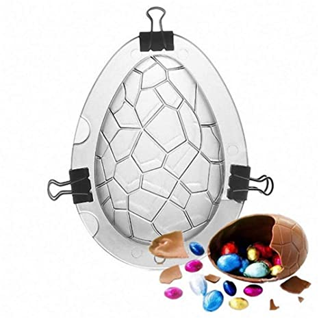 Mondeer Molde de Huevo de Pascua de Gran tamaño - Gigante Sorpresa de Huevo, Huevo