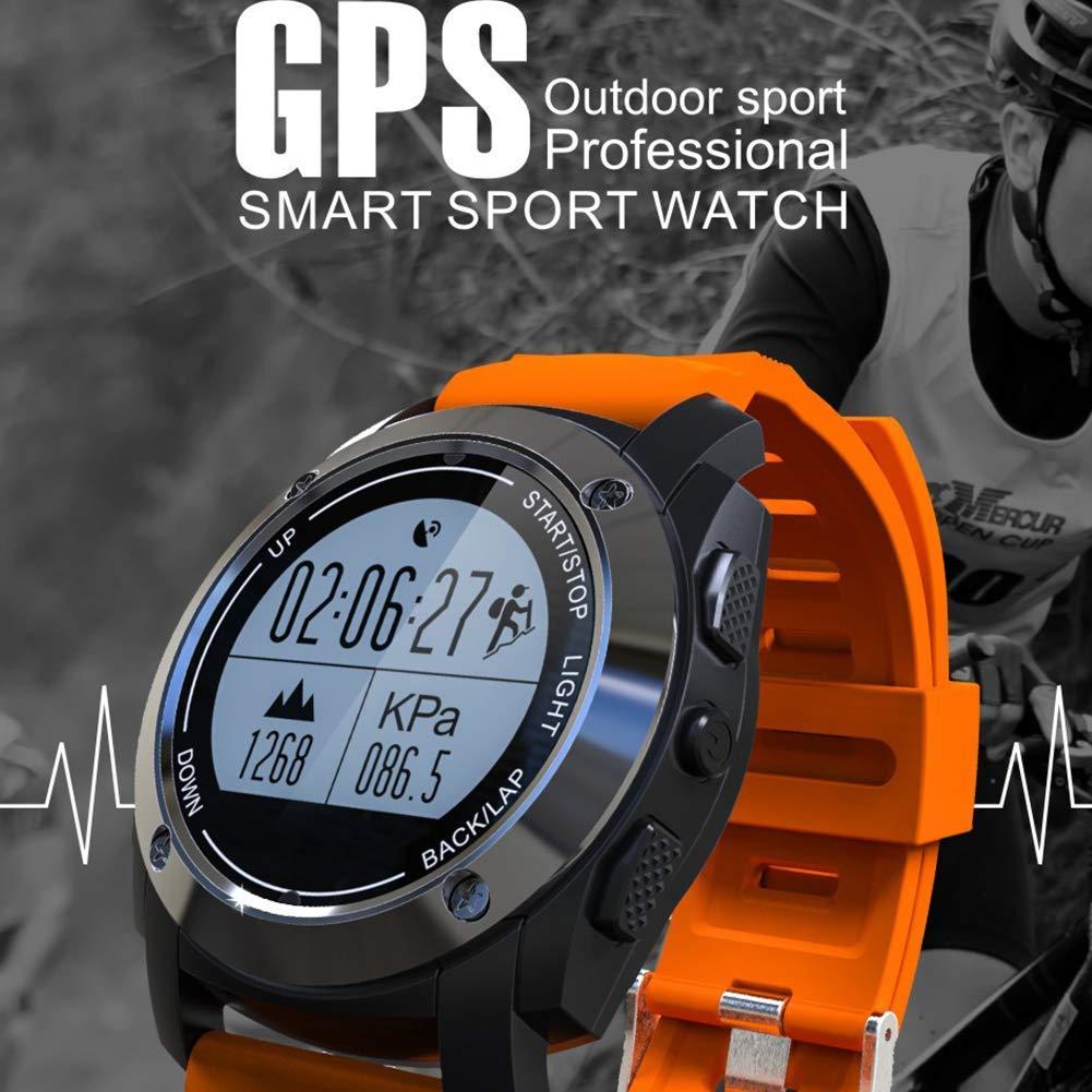Bbiao Reloj inteligente Bluetooth, GPS Wasserdichte Sport ...