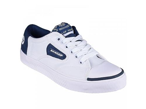 Dunlop - Zapatillas de Tenis para Hombre Blanco White/Navy: Amazon.es: Zapatos y complementos