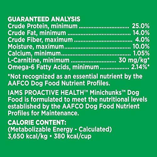 IAMS PROACTIVE HEALTH Adult Minichunks Dry Dog Food 15 Pounds