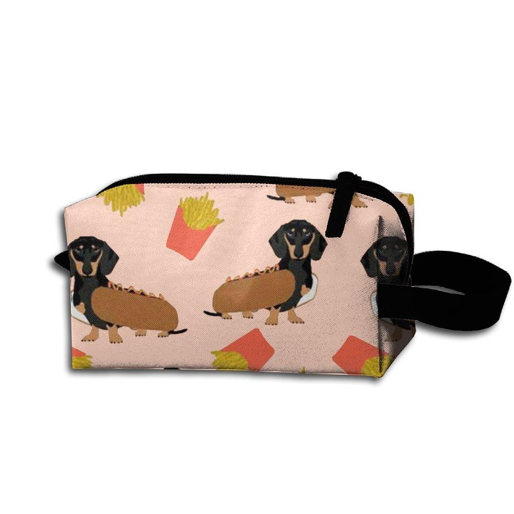 上品 cnjellawホット犬Duchshund Hanging Hanging Cosmetic Bag印刷メイクアップアクセサリーポーチTravel B07G2SRYT2 Toiletry Toiletry Case B07G2SRYT2, ADVANTAGE:0364f05b --- arianechie.dominiotemporario.com