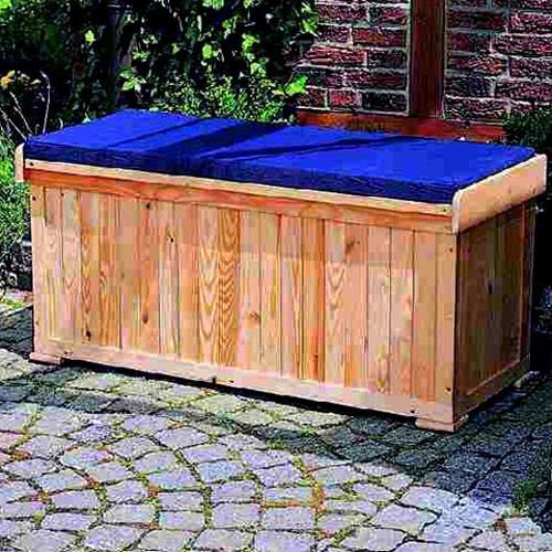 Sitzauflage Holzbank 120x51x56cm Gartenbank Holz: Amazon.de: Garten