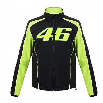 Valentino Rossi VR46 Moto GP Soft Shell Chaqueta Negro ...