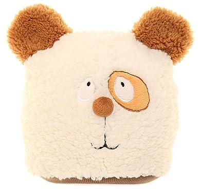 2ac4a3dffb8 Jiglz Soft Fleece Animal Beanie Hat  Amazon.co.uk  Clothing