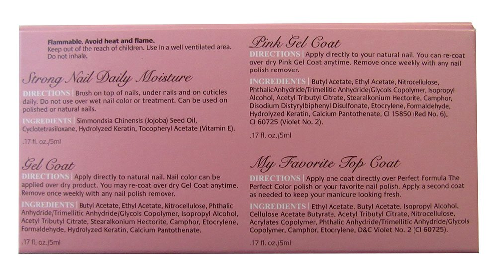 Amazon.com : Perfect Formula Nail Essential Discovery Collection ...