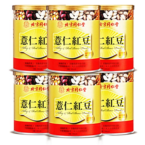 Tong Ren Tang Job's tears Coix Seed Red Bean 12.44oz Pack of 6 by Bei Jing Tong Ren Tang