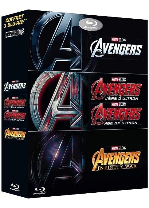 Avengers + Avengers : Lère dUltron + Avengers : Infinity War ...