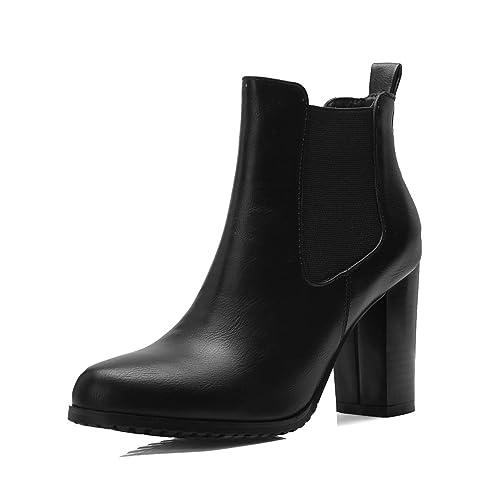 8235f451b Botines Cortos con tacón Alto para Mujer  Amazon.es  Zapatos y ...