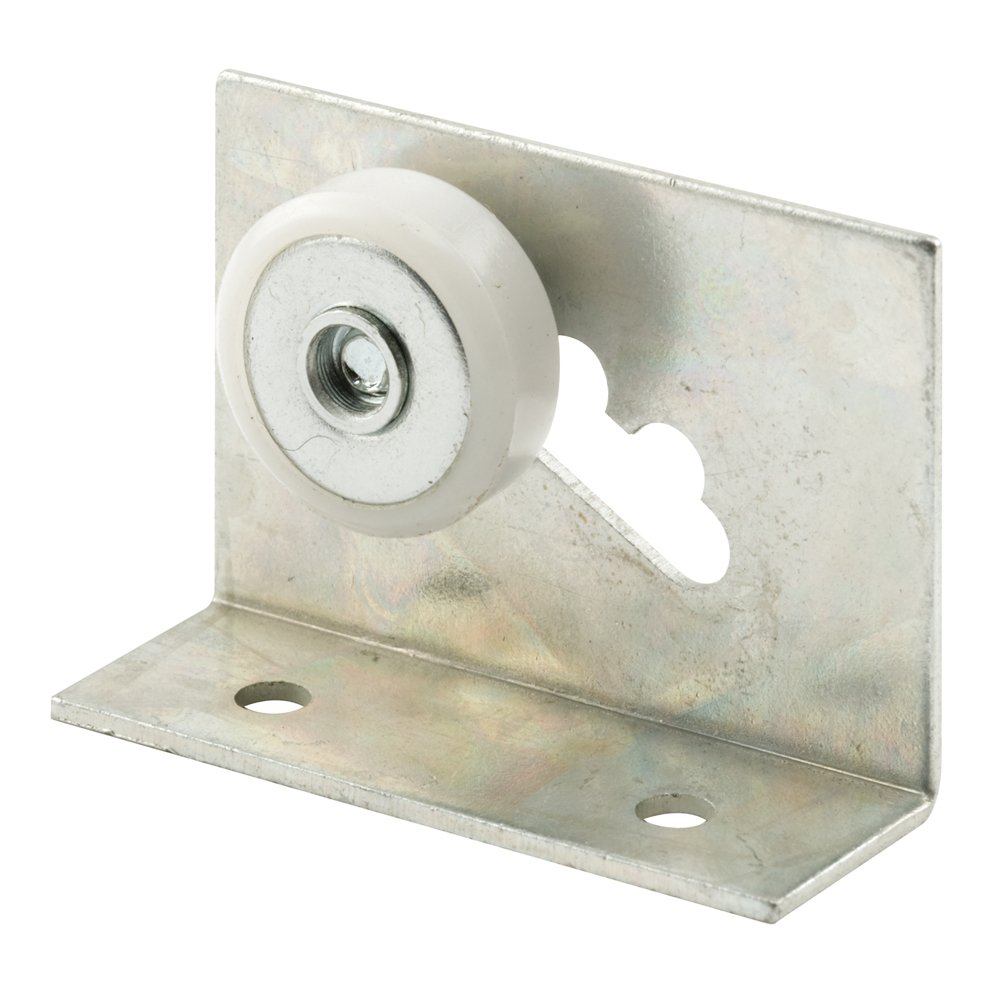 Prime Line Products M 6011 Tub Enclosure 3 4 Inch Flat Roller and Bracket Pack of 2