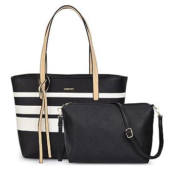 3b1a44b34b4f8 Vbiger Damen Shopper Damen Handtaschen Damen Tasche Damen Schultertasche  Damen Henkeltasche Set Handtasche Set