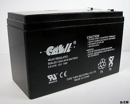 Ademco VISTA-250BP 12V 7Ah Replacement Ultramax 12V 7Ah Alarm Battery