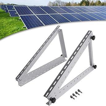 Solar Panel RV Halterung Solarhalterung Befestigung Verstellbar 1040mm Passend bis 250-300Watt