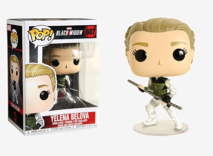 VEDOVA NERA-YELENA BELOVA FUNKO POP MARVEL Figura in vinile #607