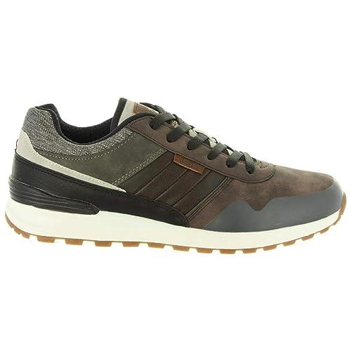 Zapatillas Deporte de Hombre LOIS JEANS 84573 15 Taupe: Amazon.es: Zapatos y complementos