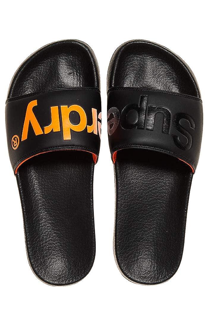 Superdry Pool Slide Zapatos de Playa y Piscina para Hombre