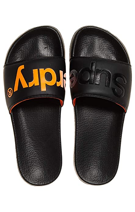 7e2bf87a10c60d Superdry Men s Pool Slide Beach   Pool Shoes  Amazon.co.uk  Shoes   Bags