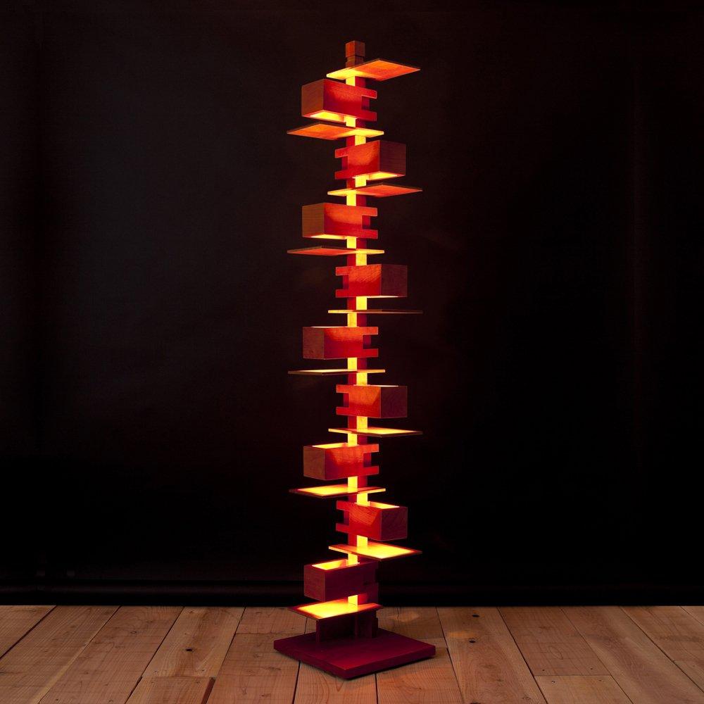 DAIVA フランクロイドライト タリアセン2 フロアーライト (Highタイプ) 照明 ランプ フランクロイドライト TALIESIN2 デザイナーズ家具 B00EOKNGLM
