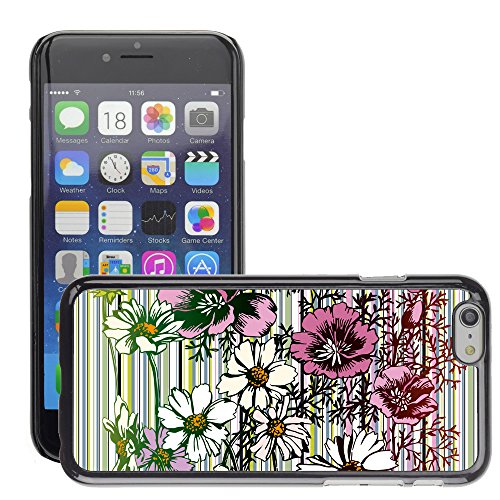Premio Sottile Slim Cassa Custodia Case Cover Shell // V00002739 Seamless Flower // Apple iPhone 6 6S 6G PLUS 5.5""