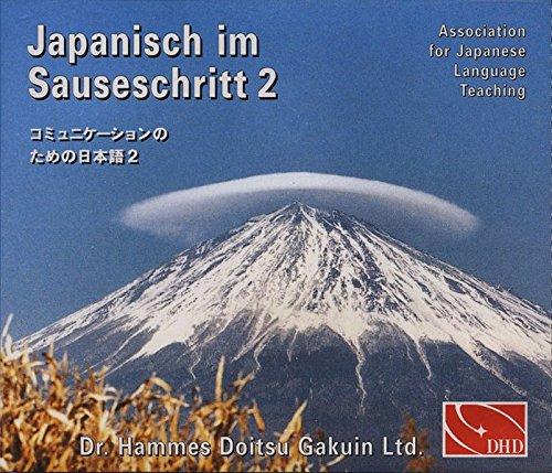 Japanisch im Sauseschritt 2 [4 CD Hörbuch]