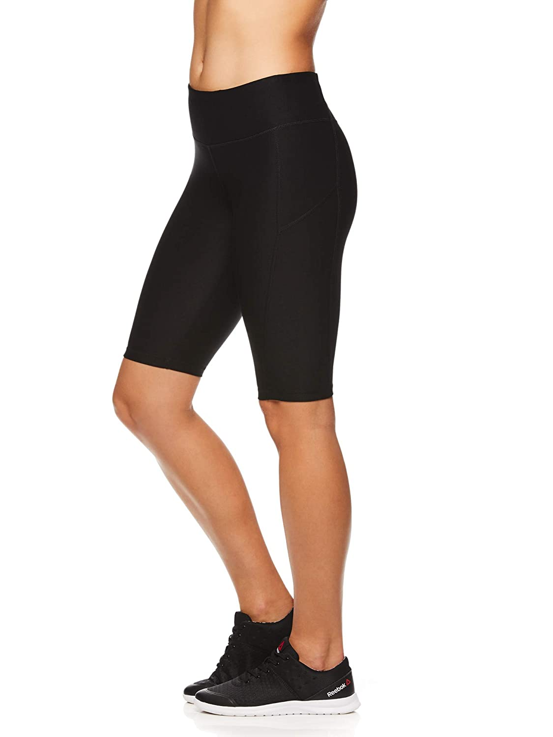 Small Quick Training Short Black High Waisted Performance Workout Short Reebok Womens Compression Running Shorts