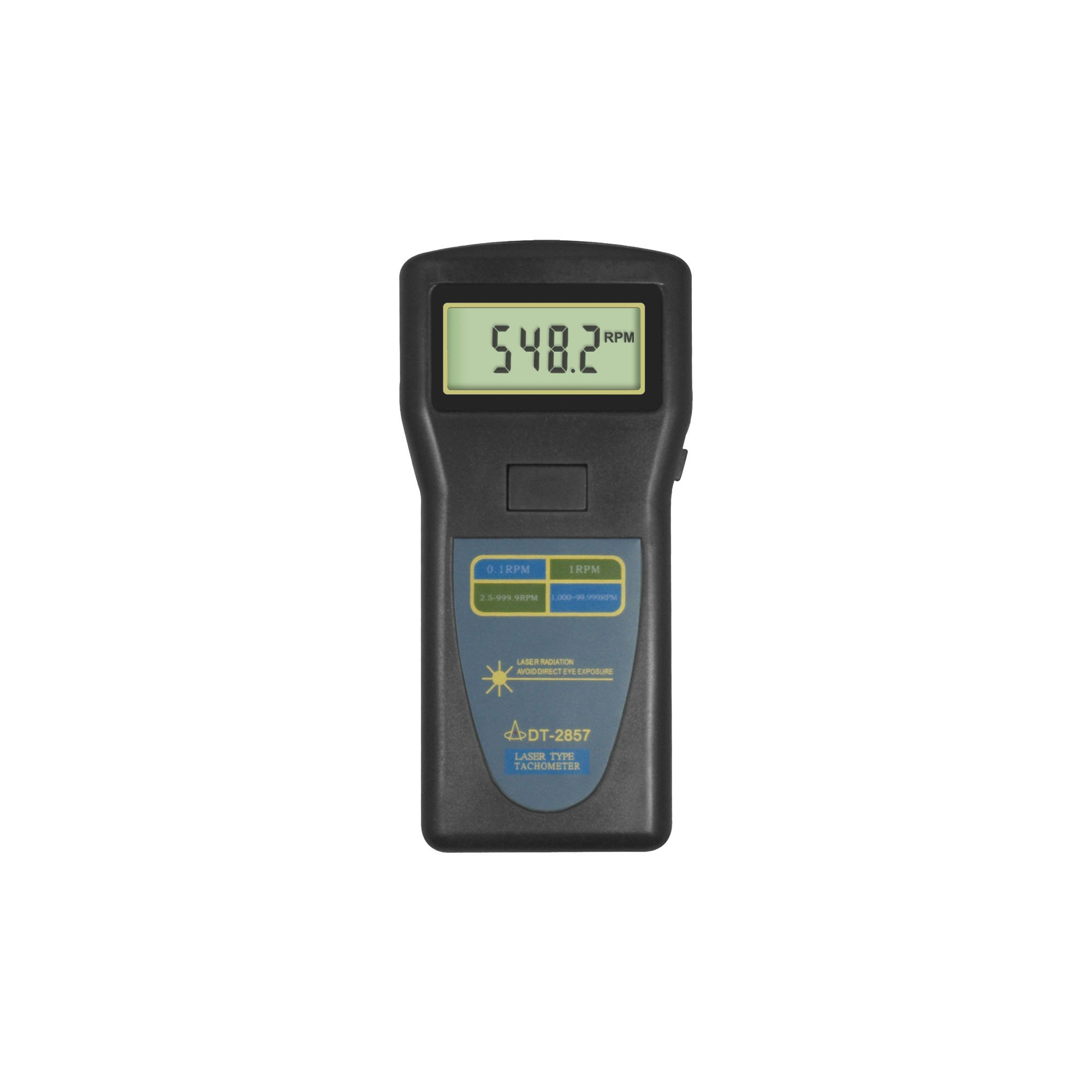 Landtek Photo Tachometer DT-2857 Velocity Speed Frequency Tester 2.5~99,999 r/min (0.05% n+1d) for Motor Fan Washing-machine Automobile Airplane Steamer