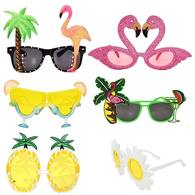 LUOEM Fancy Beer Mug Eyeglasses Carnival Party Supplies for Dress Accessory