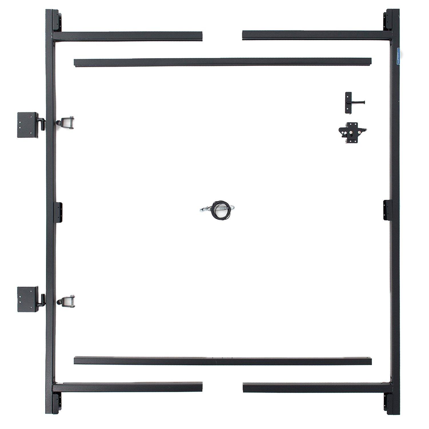 Adjust-A-Gate Steel Frame Gate Building Kit (60''-96'' wide openings up to 6' high fence)