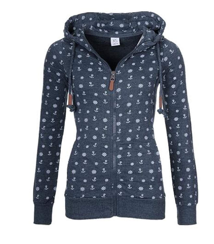91c4b8954 Desirca Hoodies 2018 Amp;Winter Women Zipper Zip-Up Hoodies ...