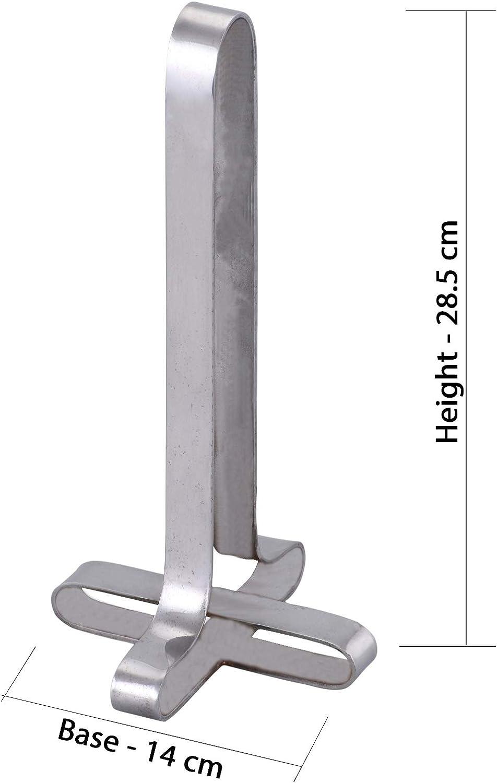 Portarrollos de Cocina ARSUK Portarrollos de Papel de Cocina con Base y Soporte Arriba-Derecha Chrome