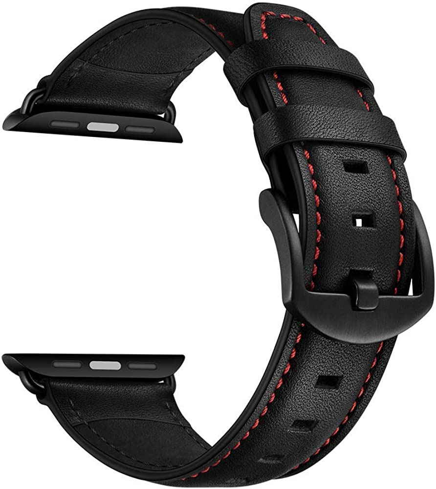 CINORS Compatible with Apple Watch 44mm Vintage Band Straps Replacement Products for iWatch Series 6 SE 5 4 3 2 1