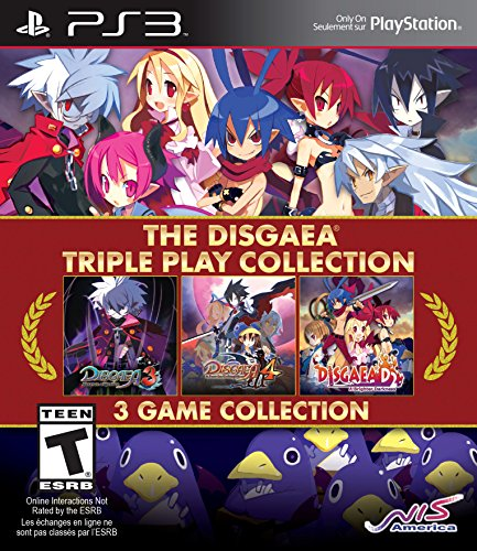 The Disgaea Triple Play Collection - PlayStation 3 (Play Triple Collection)
