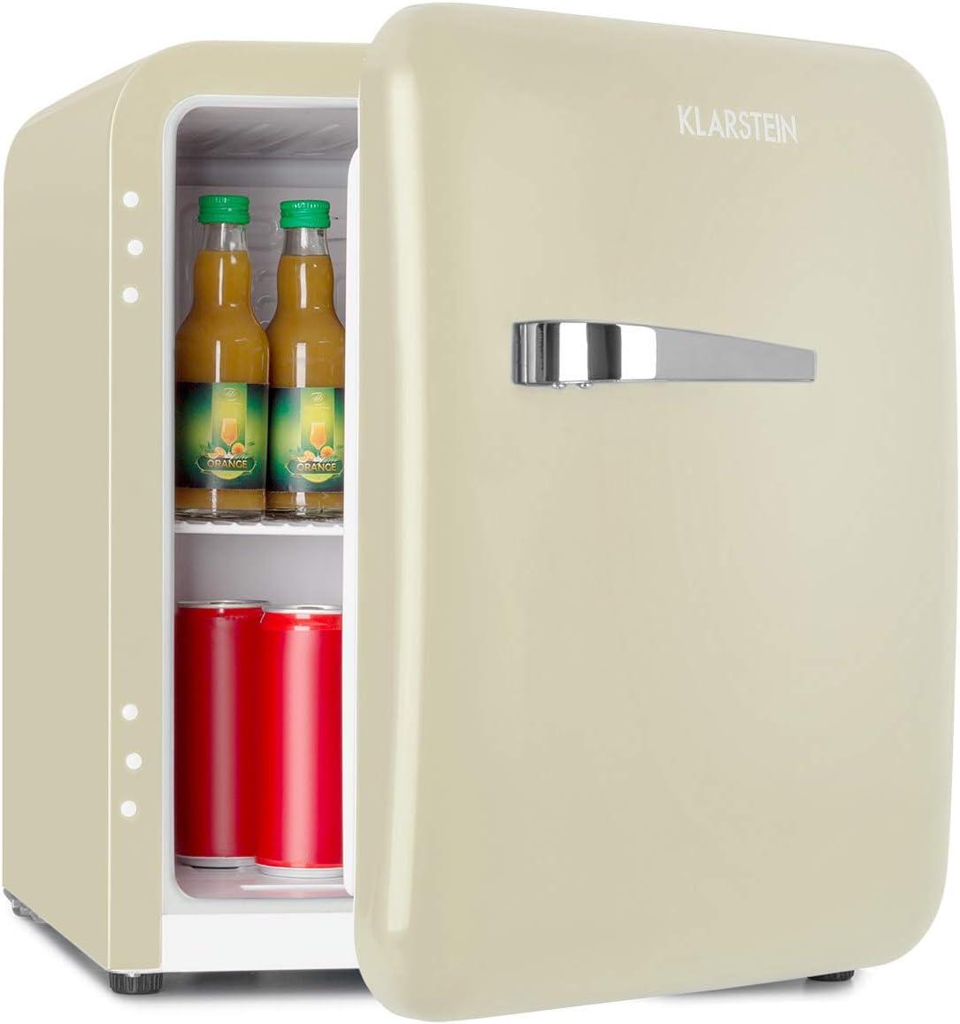 Klarstein Audrey Mini Refrigerador con congelador - Capacidad de ...