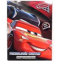 Disney Cars Libro Interactivo con Actividades múltiples de192 páginas.