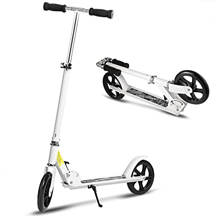 YUEBO Scooter Adulto Patinete Plegable Patinete niño 8 años City Scooter 2 Ruedas de Scooter Kick Scooter para Adultos y niños