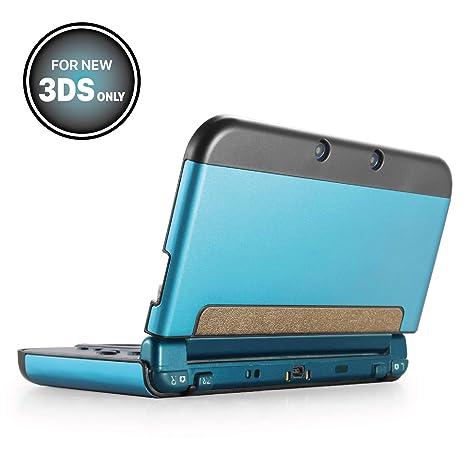 Amazon.com: TNP New 3DS funda – plástico + aluminio cuerpo ...
