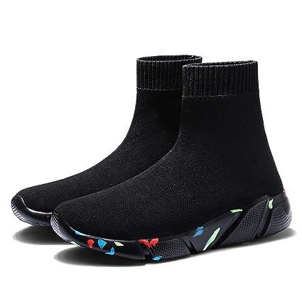 2ad43abc3481a Amazon.com: DETAIWIN Women Casual Walking Shoes Socks Slip On ...