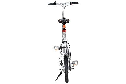 AIRWHEEL R5 plegable para bicicletas eléctricas e-Bike Pedelec bicicleta plegable para eléctrica con gran alcance hasta 100 KM, de 16 pulgadas Neumáticos y ...